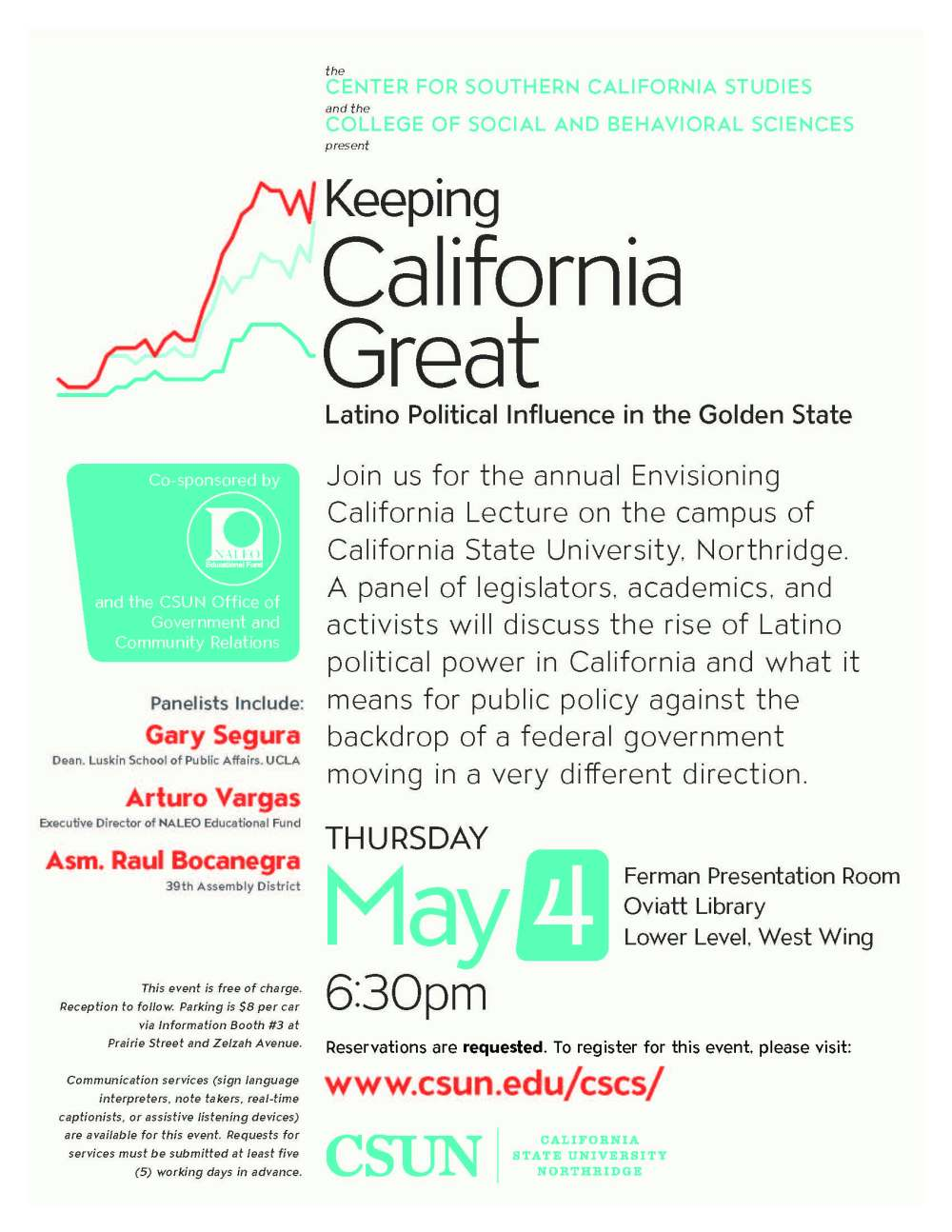 Keeping California Great - Flyer